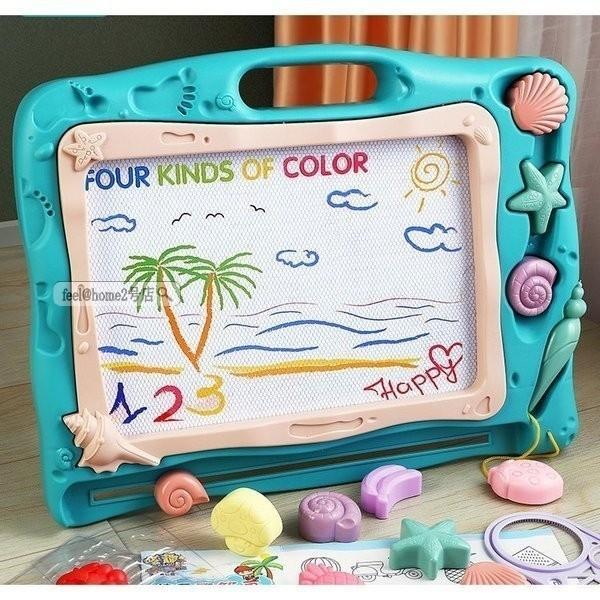 お絵描きボードかいて育脳知育玩具シリーズ持ち手付カラフルおえかきボード磁石マグネットペン付きプレゼント贈り物入園お祝い