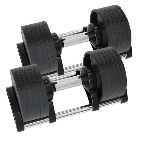 可変式ダンベル 2個セット 20kg ダンベル FLEXBELL フレックスベル │ 6段階 可変ダンベル 2個 セット 鉄アレイ パワーブロック 筋トレ グッズ