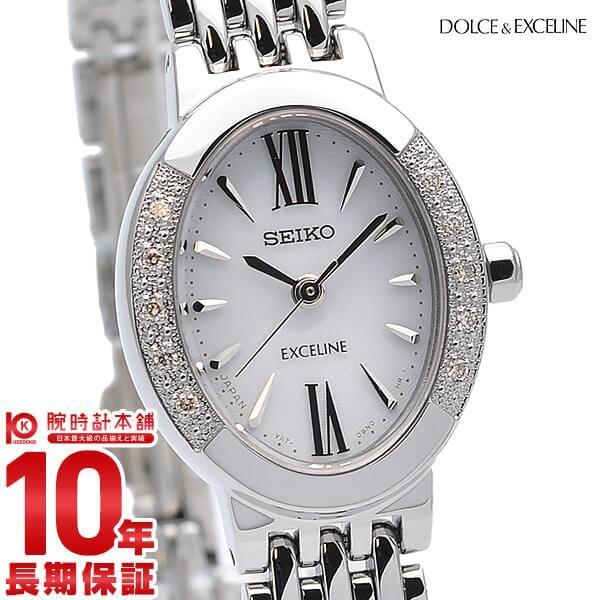最大26倍 24日25日26日限定 セイコー ドルチェ&エクセリーヌ SEIKO DOLCE&EXCELINE ソーラー 10気圧防水  レディース 腕時計 SWCQ047|10keiya