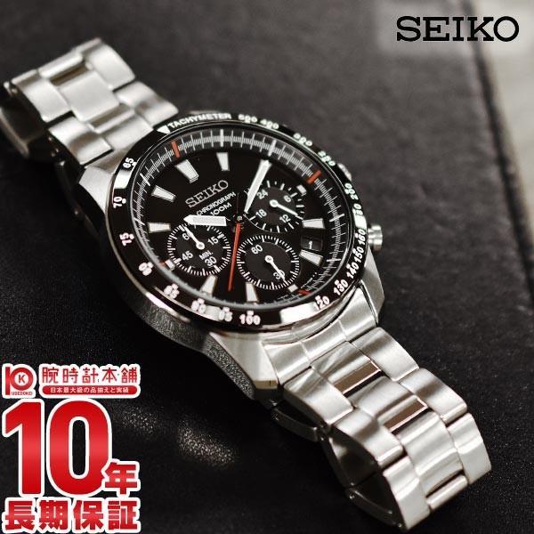 セイコー 逆輸入モデル SEIKO クロノグラフ 10気圧防水  メンズ 腕時計 SSB031P1(SSB031PC)