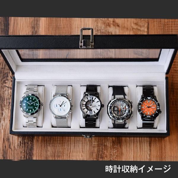 時計ケース 5本収納 腕時計本舗オリジナル|10keiya|03