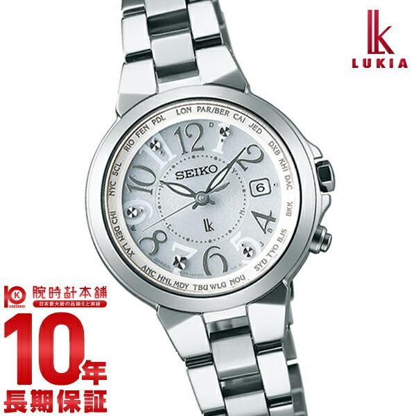 ルキア ソーラー電波 100m防水 SSQV001 LUKIA|10keiya