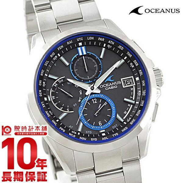 new style 8711d ed1a0 カシオ オシアナス CASIO OCEANUS ソーラー電波 メンズ 腕時計 OCW-T2600-1AJF