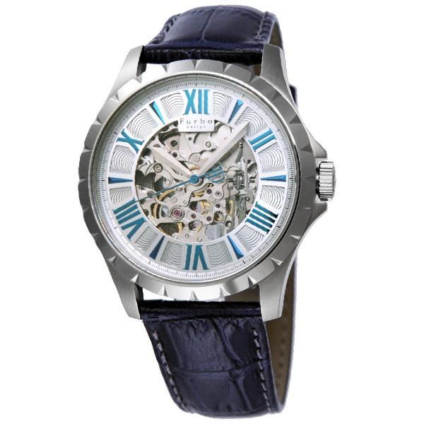 最大26倍 24日25日26日限定 フルボデザイン Furbo   メンズ 腕時計 F5021SSIBL|10keiya|02