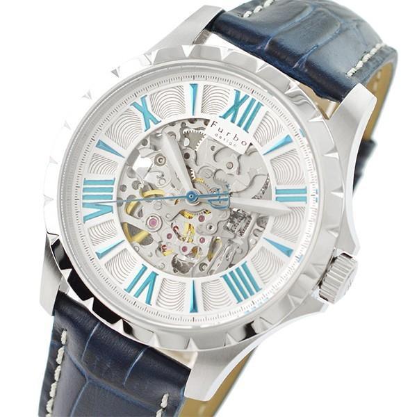 最大26倍 24日25日26日限定 フルボデザイン Furbo   メンズ 腕時計 F5021SSIBL|10keiya|06