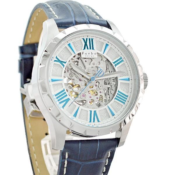 最大26倍 24日25日26日限定 フルボデザイン Furbo   メンズ 腕時計 F5021SSIBL|10keiya|08