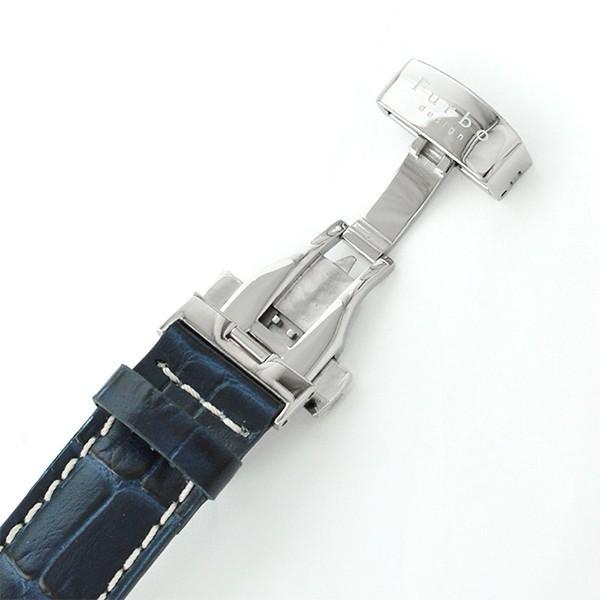 最大26倍 24日25日26日限定 フルボデザイン Furbo   メンズ 腕時計 F5021SSIBL|10keiya|10