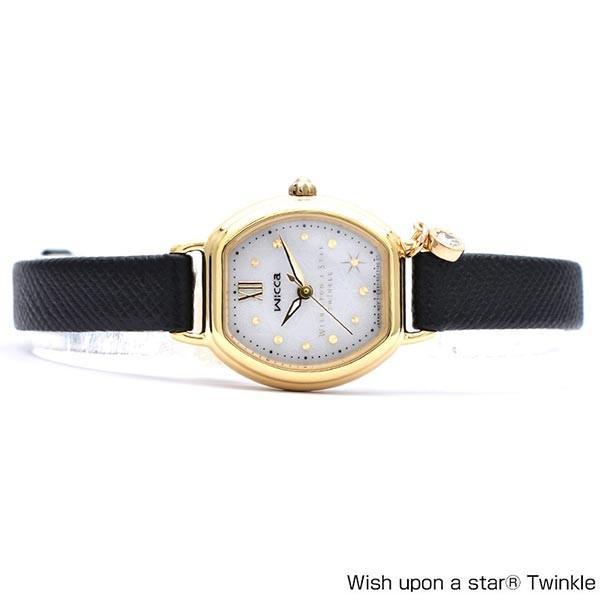 シチズン ウィッカ wicca Wish upon a star Twinkleコラボモデル 限定1950本 限定BOX付 KP2-523-12 かわいい [正規品] レディース 腕時計 時計