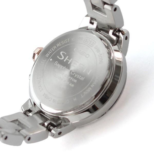 カシオ シーン CASIO SHEEN   レディース 腕時計 SHW-5000DSG-4AJF(予約受付中)|10keiya|08