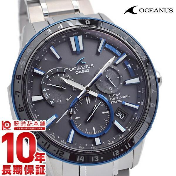check out acdc1 ae52e 最大ポイント22倍 カシオ オシアナス CASIO OCEANUS GPS 電波ソーラー メンズ 腕時計 ...