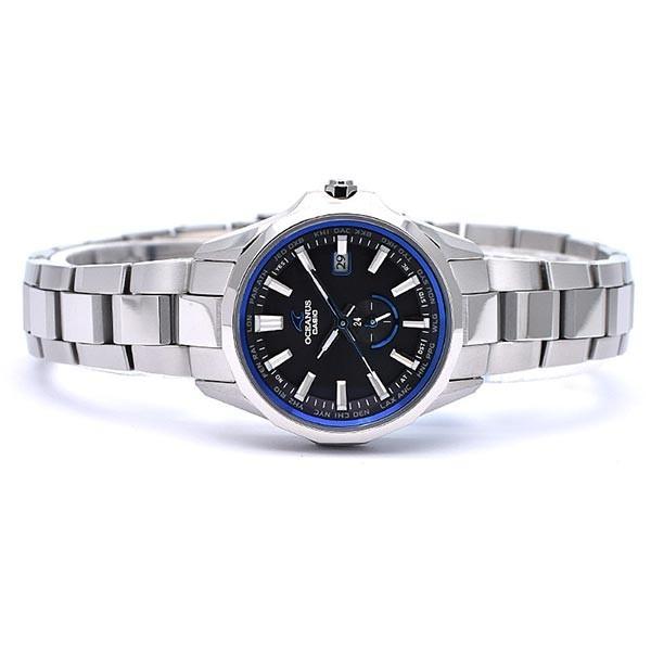 カシオ オシアナス CASIO OCEANUS マンタ  レディース 腕時計 OCW-S350-1AJF|10keiya|08
