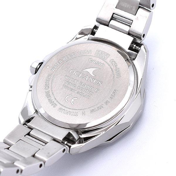 カシオ オシアナス CASIO OCEANUS マンタ  レディース 腕時計 OCW-S350-1AJF|10keiya|10