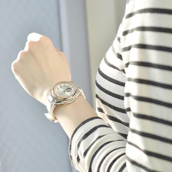 BABY-G ベビーG カシオ CASIO ベビージー 電波ソーラー  レディース 腕時計 MSG-W200RSC-7AJF(予約受付中) 10keiya 03