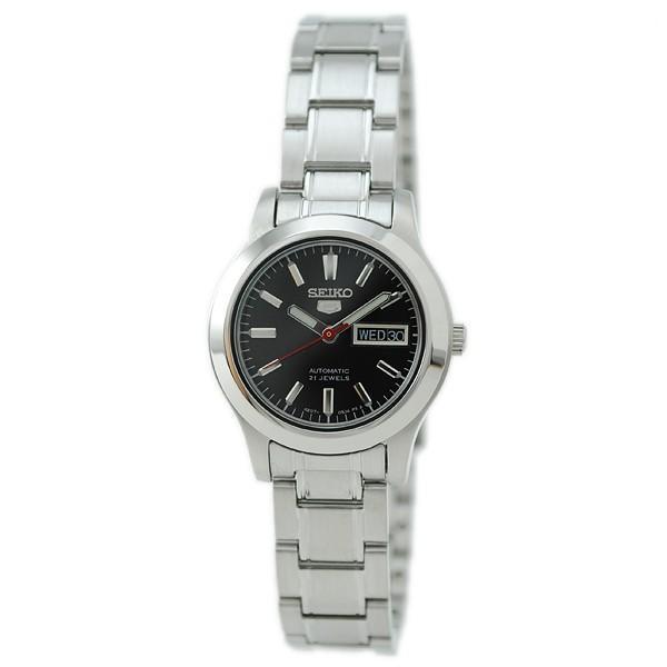 最大26倍 24日25日26日限定 セイコー5 逆輸入モデル SEIKO5 セイコーファイブ SEIKO 機械式 自動巻き  レディース 腕時計 SYMD95K1|10keiya|02