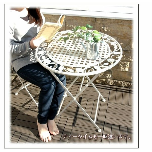 ウッドパネル ウッドデッキ ウッドデッキパネル 人工木 樹脂 (27枚セット) ダークブラウン クレアーレST2 デッキパネル ウッドタイル|1128|03