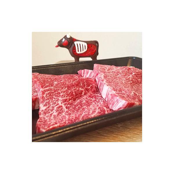 牛肉 肉 和牛 赤身肉 鹿児島産黒毛和牛 経産牛雌 ももステーキ -400g 1129nikulabo 02