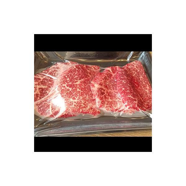 牛肉 肉 和牛 赤身肉 鹿児島産黒毛和牛 経産牛雌 ももステーキ -400g 1129nikulabo 04