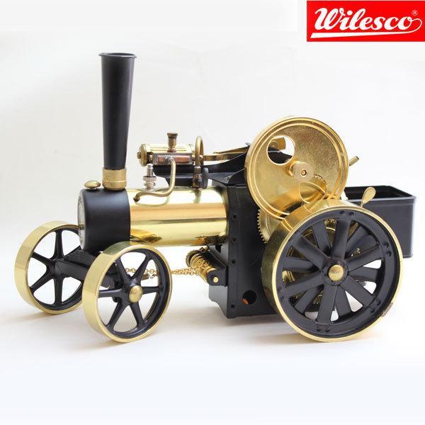 蒸気エンジン付きトラクター Model D407