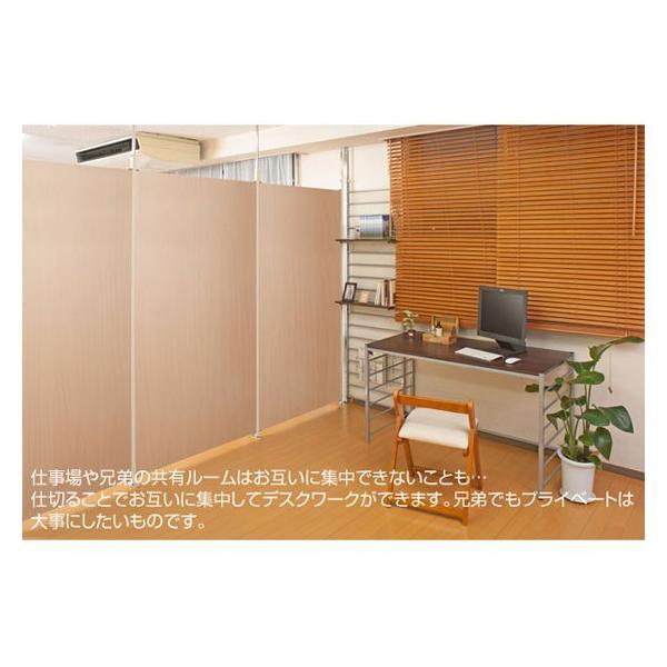 つっぱり式間仕切りパーテーション 本体 幅65cm ボードタイプ JO-0047/JO-0055|1147kodawaru|03