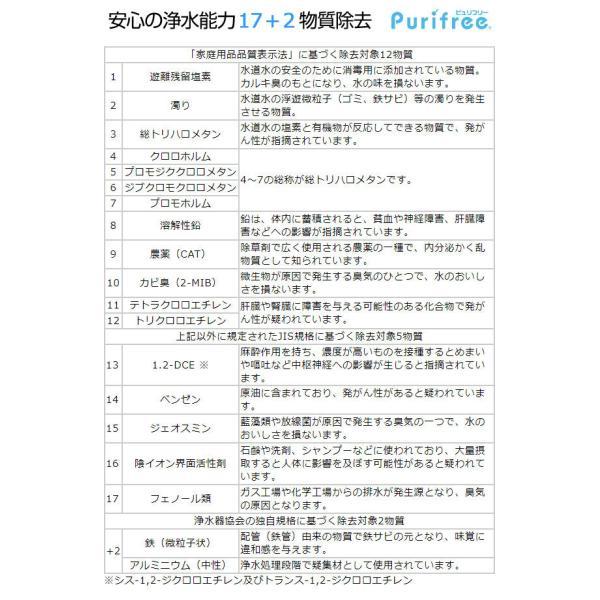 浄水器 ピュリフリー Purifree 据置型浄水器 2年間交換不要|1147kodawaru|04