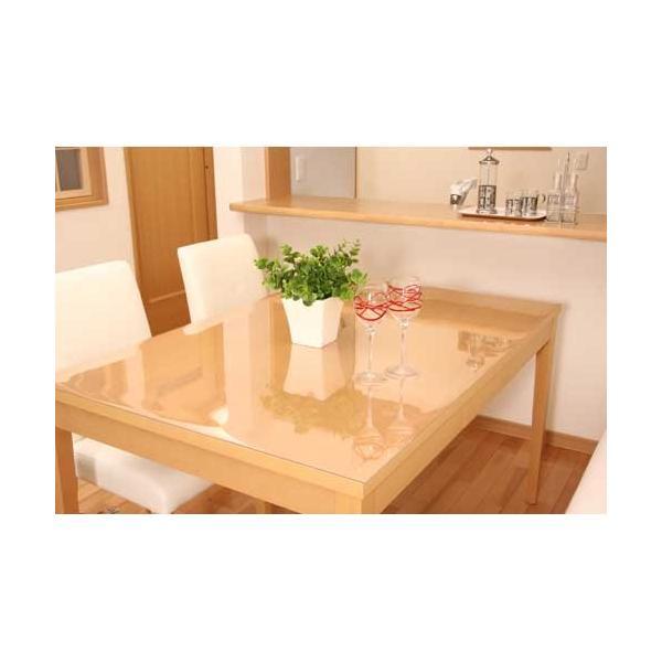 アキレス 透明テーブルマット 120×120cm 1.5mm厚|1147kodawaru