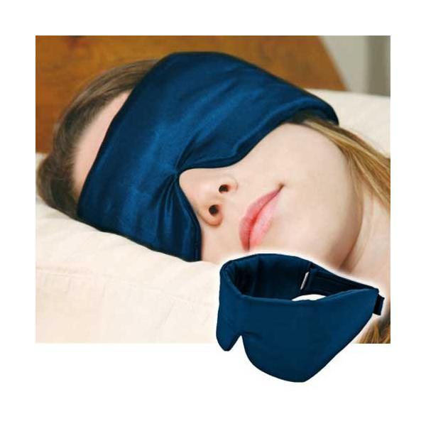 スリープマスター 光と音を軽減するアイマスク 耳まで覆うアイマスク