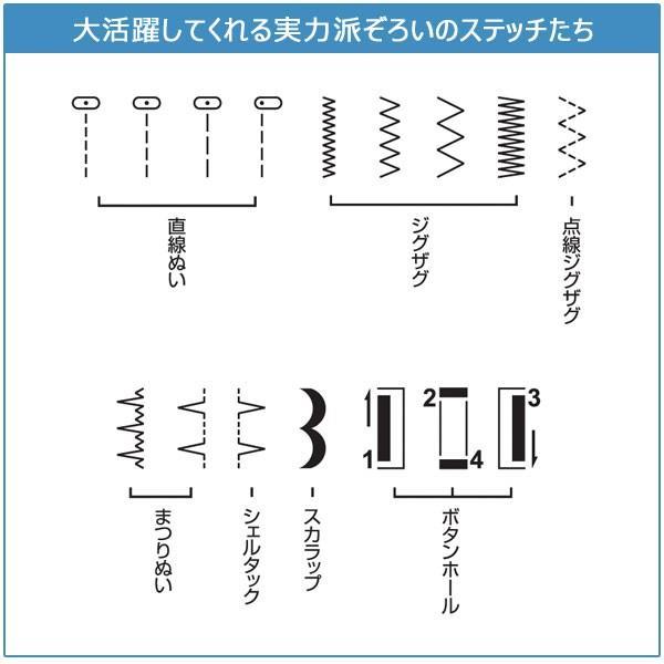 シンガー コンパクト電動ミシン SN55e フットコントローラー付 SINGER ソフトカバー付|1147kodawaru|03