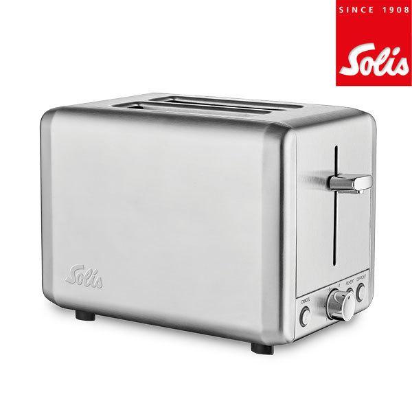 トースター スチール製ポップアップトースター ソリス