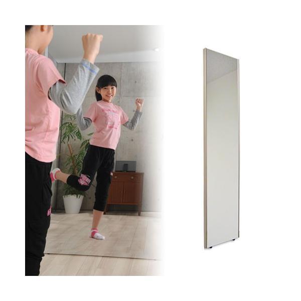 割れない鏡 フィルムミラー 姿見 壁掛け リフェクス ミニ吊り式 幅20×高さ90cm 軽量 日本製|1147kodawaru