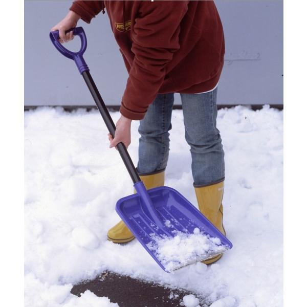 雪かきスコップ2本組 9504038 カルスコ635 軽量コンパクトで女性でも扱いやすい除雪スコップ|11myroom|02