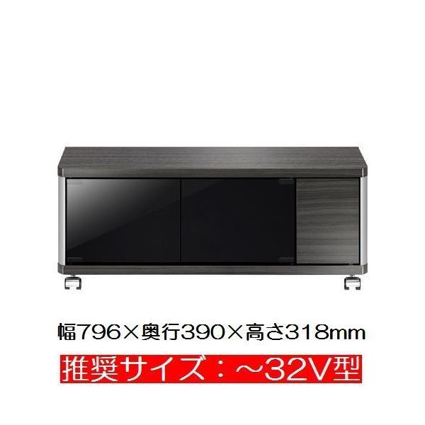 テレビ台 ローボード 32インチ AS-GD800L アッシュグレー木目調シート 朝日木材加工 テレビ台 ローボード テレビ台 シンプル|11myroom