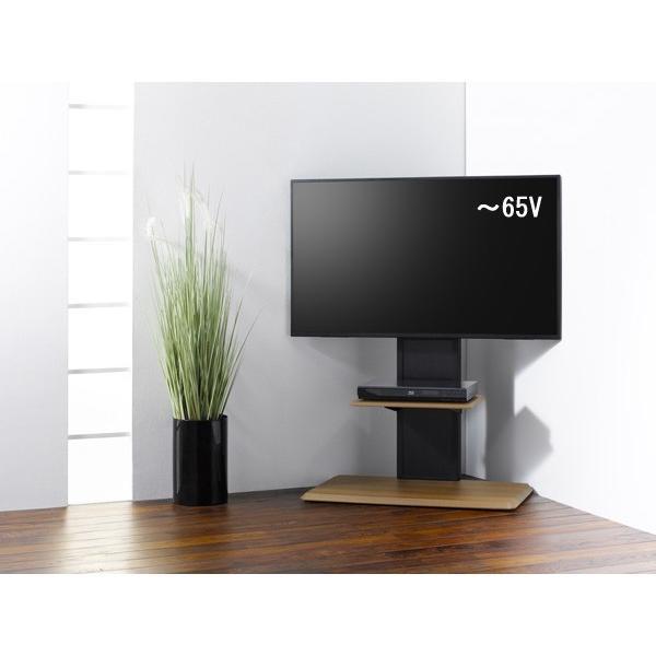 組立簡単 棚板付き コーナーテレビ台 テレビスタンド 壁寄せ 壁掛けテレビ台 おしゃれ ロータイプ 32-65V型 おすすめ|11myroom