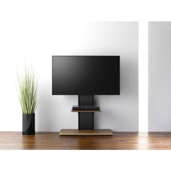 組立簡単 棚板付き コーナーテレビ台 テレビスタンド 壁寄せ 壁掛けテレビ台 おしゃれ ロータイプ 32-65V型 おすすめ|11myroom|04
