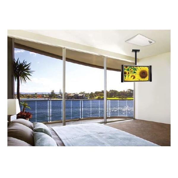 汎用 液晶テレビ天吊り金具26 42インチ CPLB102S-S-a シルバー テレビ用天吊り金具|11myroom|06