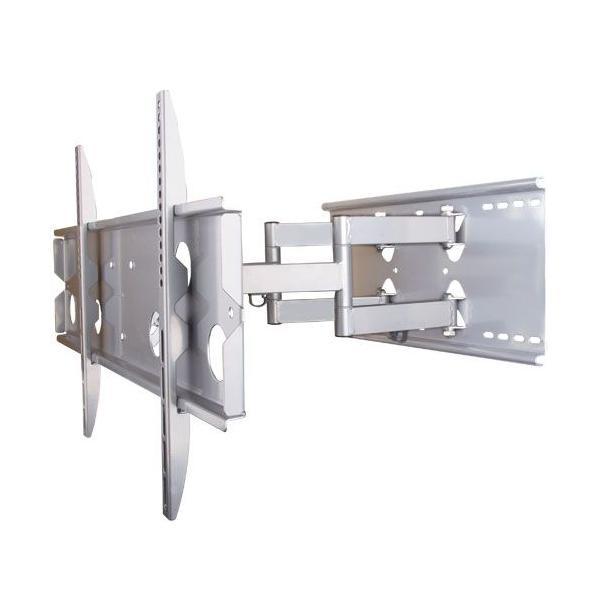 テレビ台 壁掛け 金具 37型 65型 上下15度、左右最大45度角度調節可能PLB-137MS 汎用薄型・液晶テレビ シルバー|11myroom|04