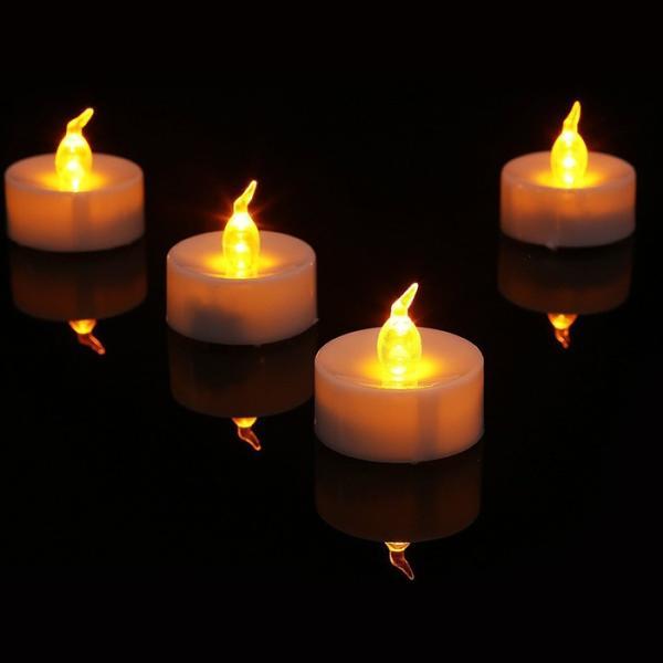 キャンドルライト led 蝋燭 ゆらぎ炎 ト リモコンタイマー点滅機能付き 60時間連続点灯 長い持ち 誕生日 結婚式 部屋 飾り等用 9個セット|11oclock|02