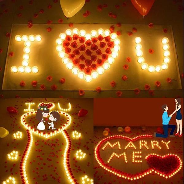 キャンドルライト led 蝋燭 ゆらぎ炎 ト リモコンタイマー点滅機能付き 60時間連続点灯 長い持ち 誕生日 結婚式 部屋 飾り等用 9個セット|11oclock|07