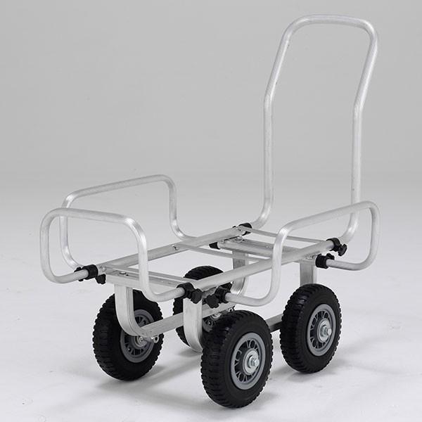 メーカー直送 / 伸縮ハウスカー8インチノーパンクタイヤ SKK058PS アルインコ