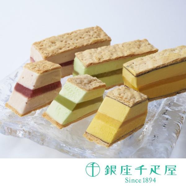 母の日千疋屋アイスクリーム詰め合わせお取り寄せ贈り物ギフトGift銀座千疋屋銀座ミルフィーユアイス