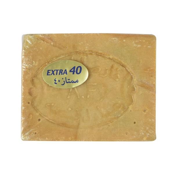 石鹸 洗顔石鹸 オリーブオイル アレッポの石けん EXTRA40 180g