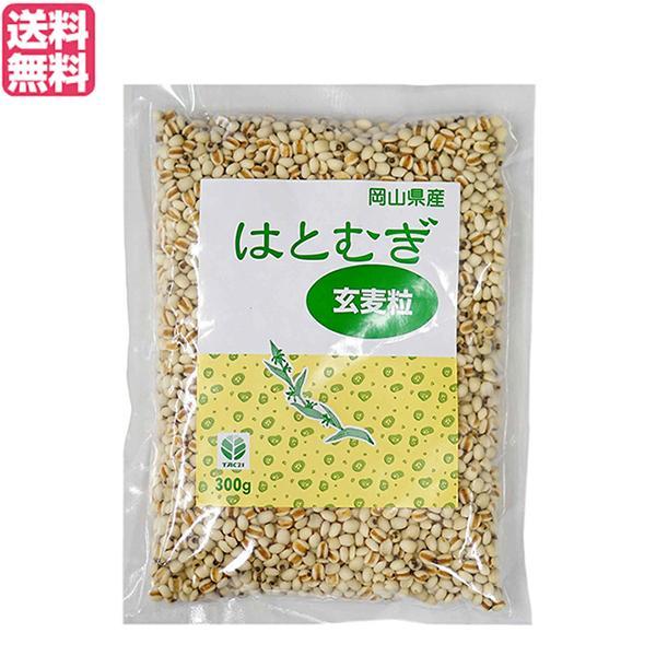 はと麦 はとむぎ はとむぎ玄麦粒 300g TAC21 送料無料