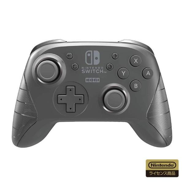 Switch ワイヤレスホリパッド for Nintendo Switch ブラック(ネコポス便不可)【新品】|1932