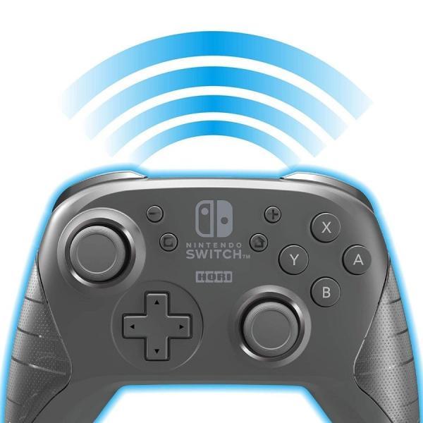 Switch ワイヤレスホリパッド for Nintendo Switch ブラック(ネコポス便不可)【新品】|1932|02