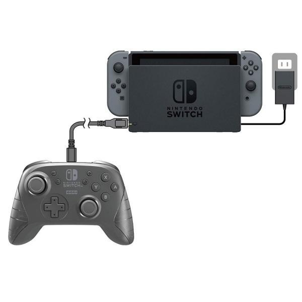 Switch ワイヤレスホリパッド for Nintendo Switch ブラック(ネコポス便不可)【新品】|1932|05
