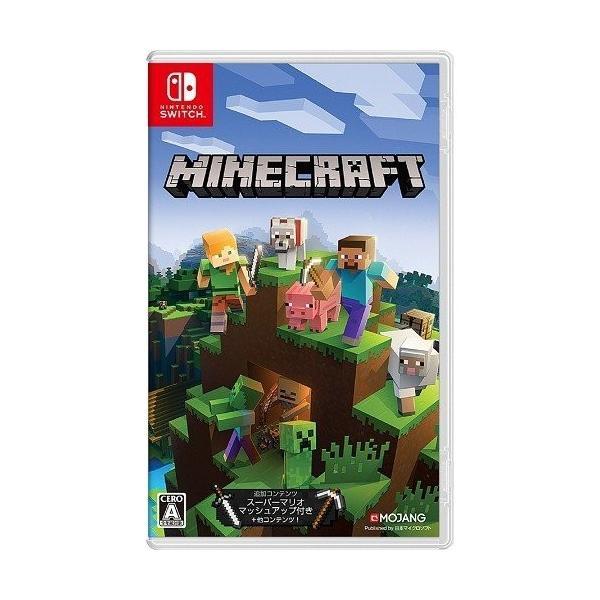 Switch Minecraft(マインクラフト)(2018年6月21日発売)【新品】