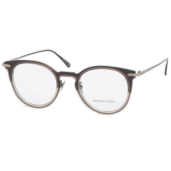 【返品OK】ボッテガヴェネタ 眼鏡フレーム アイウェア メンズ レディース 49サイズ ブラウン BOTTEGA VENETA BV0211O 002 ボストン