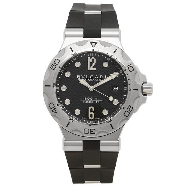 BVLGARI 腕時計 メンズ ブルガリ DP42BSVDSDVTG ブラック シルバー|1andone