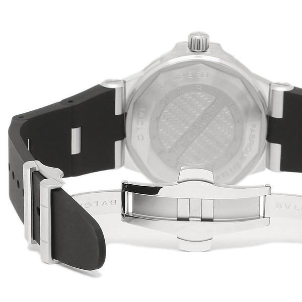 BVLGARI 腕時計 メンズ ブルガリ DP42BSVDSDVTG ブラック シルバー|1andone|02