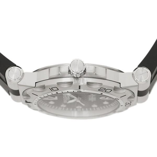 BVLGARI 腕時計 メンズ ブルガリ DP42BSVDSDVTG ブラック シルバー|1andone|03