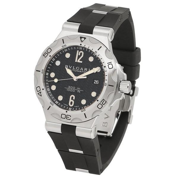 BVLGARI 腕時計 メンズ ブルガリ DP42BSVDSDVTG ブラック シルバー|1andone|05